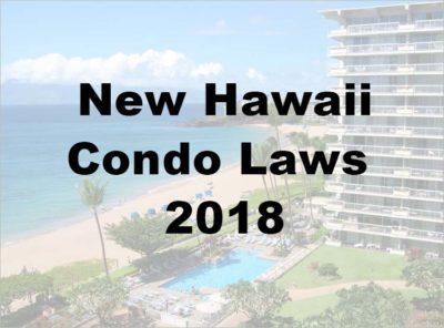 New Condo Laws