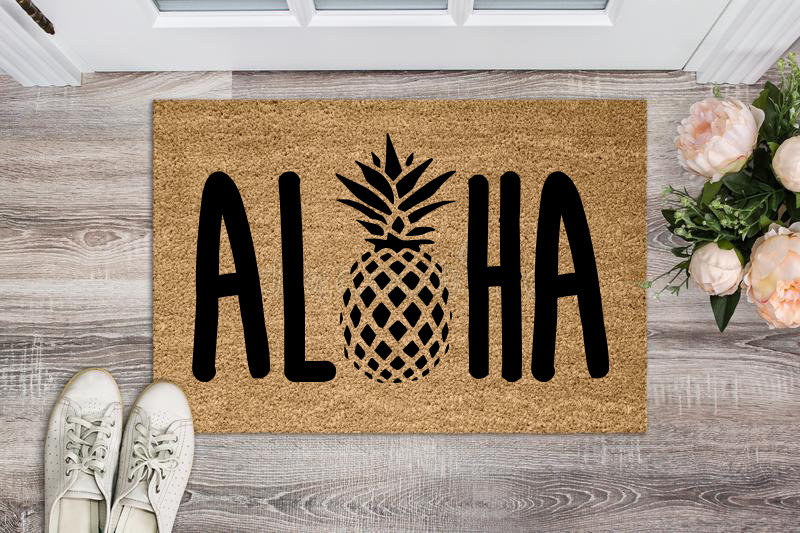 condo welcome mat
