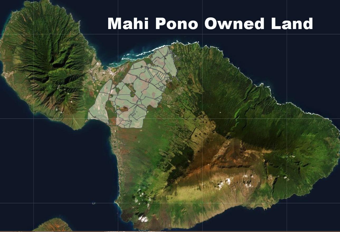 Mahi Pono Map