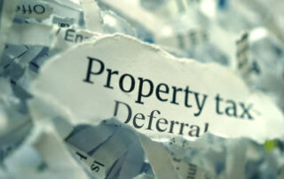 property tax deferral