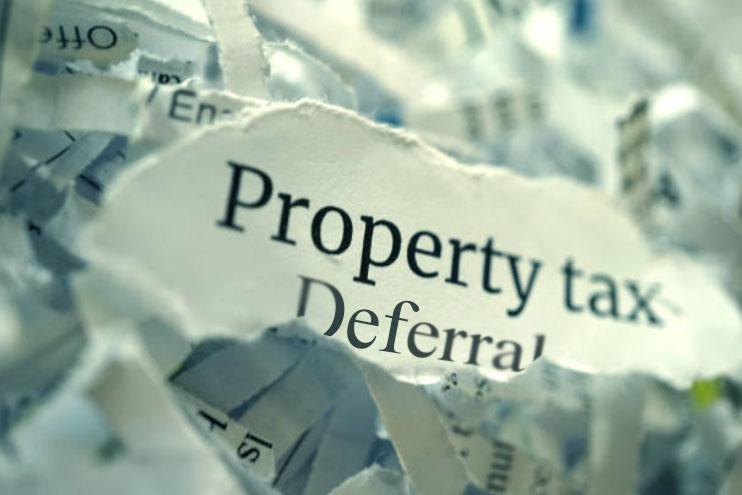 property tax deferral